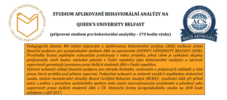Studium ABA na QUEEN'S UNIVERSITY BELFAST